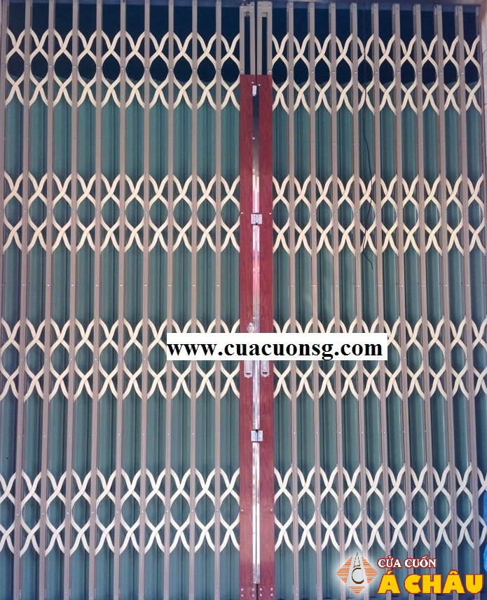 cửa sắt kéo sơn tĩnh điện